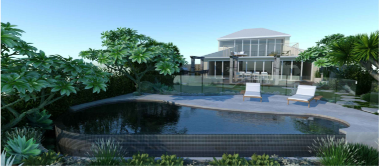 2D Pool Design Pittwater Rd Narrabeen 4