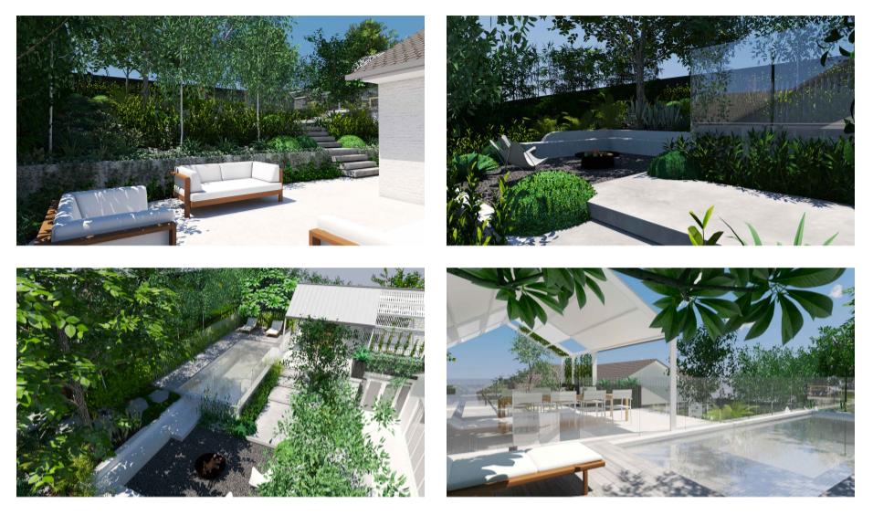 3D Landscape Pool Design Sydney Pool Builders